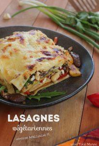 lasagnes végétariennes antillaises