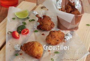 Croustilles d'ailes de poulet