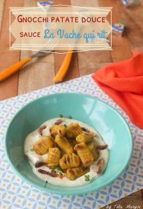 Gnocchis patate douce légumes antillais