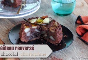 gâteau au chocolat christophine légumes antillais