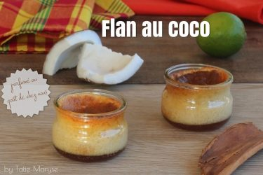 flan au coco