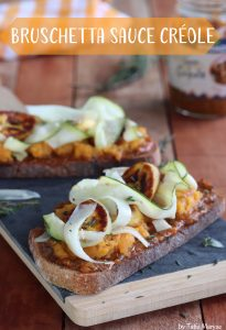 Bruschetta sauce créole