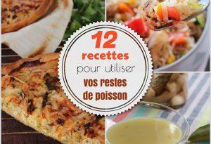 recettes pour utiliser reste de poisson