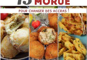 recettes de morue Guadeloupe