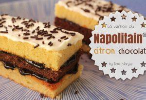 Napolitain citron chocolat