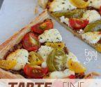 tarte fine tomate chèvre