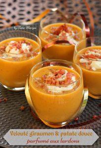 velouté légumes oranges