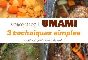 3 techniques pour augmenter l'umami