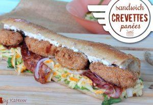 sandwich crevettes panées