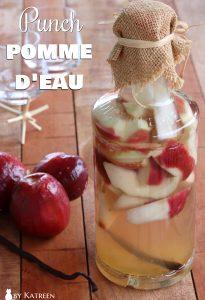 punch pomme d'eau Martinique
