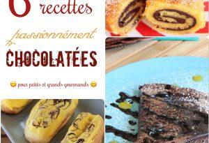 6 recettes chocolat passion