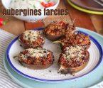 aubergines farcies à la viande de bœuf