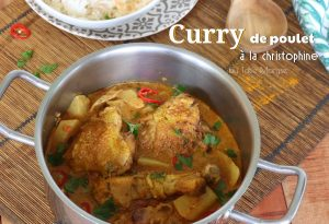 curry de poulet christophine