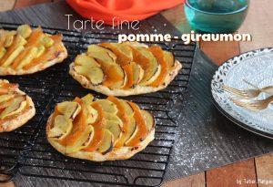 tarte fine pomme giraumon