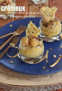 crémeux de patate douce au lait de coco