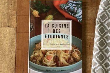 livre cuisine des étudiants