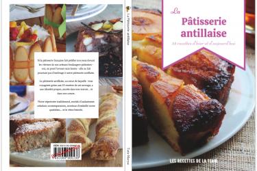 couverture livre la pâtisserie antillaise