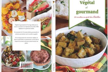 couverture livre végétal et gourmand