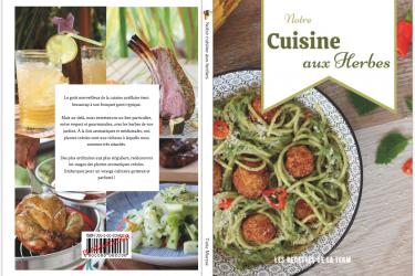 couverture livre notre cuisine aux herbes