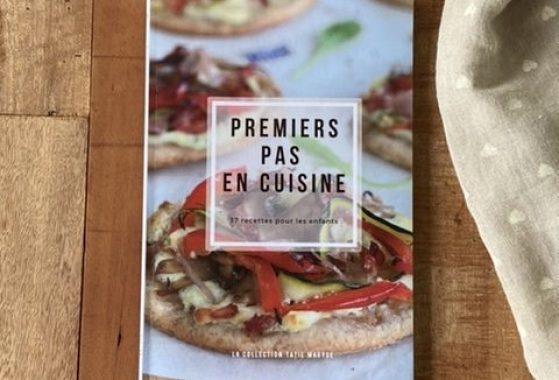 livre premiers pas en cuisine