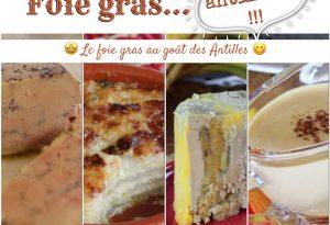 recettes de foie gras antillais