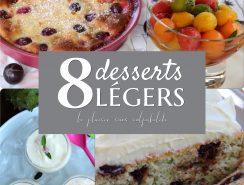 8 desserts légers antilais