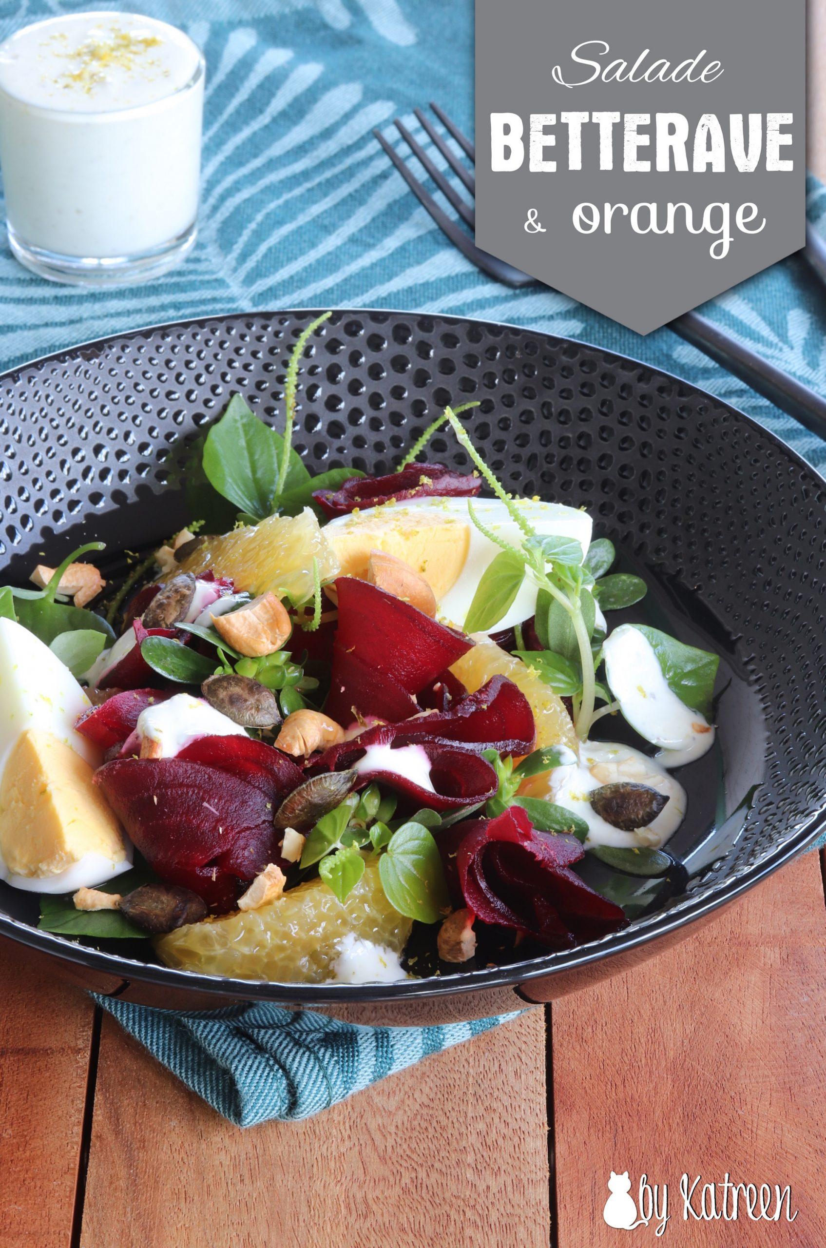 salade betterave et orange