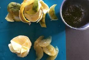 betterave - orange sauce gingembre