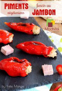 piments farcis au jambon sans nitrites MADIVIAL